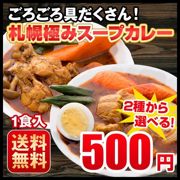 送料無料 2種から選べる 札幌極みスープカレー...