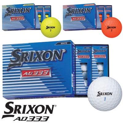 DUNLOP(ダンロップ) SRIXON AD333 2018 ゴルフ ボ...