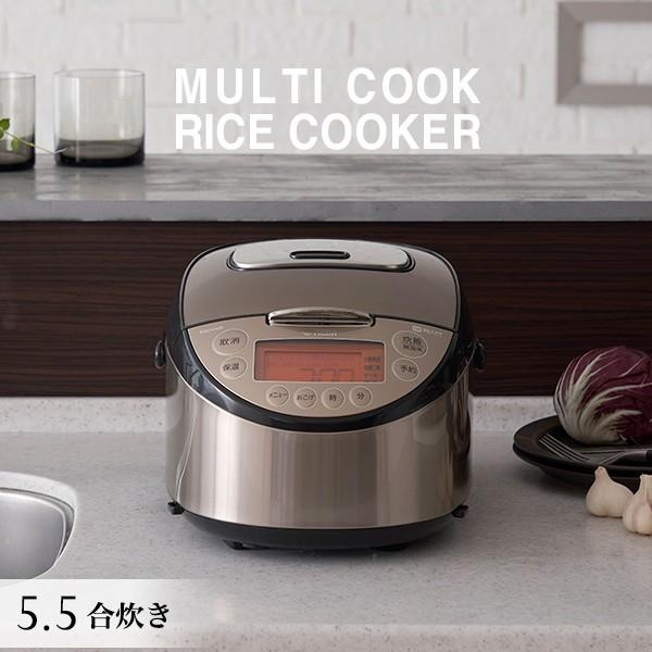タイガー IH炊飯器 5.5合 JKT-L100TP パールブラ...
