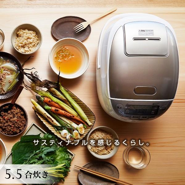 タイガー 圧力IH炊飯器 JPK-A100W 5.5合 ホワイト タイガー魔法瓶 炊飯器 炊きたて 圧力 IH 炊飯ジャー 調理