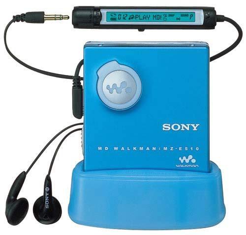 SONY MZ-E510 L MDウォークマン (ブルー)(中古品)...