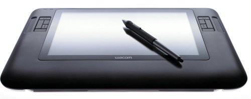 Wacom 液晶タブレット 薄型17mm、12.1インチ液晶 ...