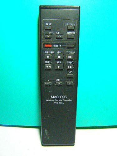 ナショナル ビデオリモコン VEQ0595(中古品)