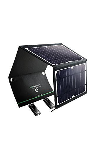 RAVPower ソーラーチャージャー ソーラー充電器 1...