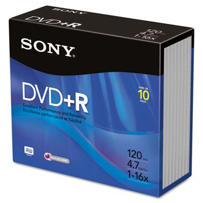 DVD + Rディスク、4.7?GB 16?x Sold as 1?Package...