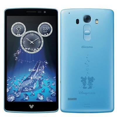 LG電子 Disney Mobile on docomo DM-01G Powder B...