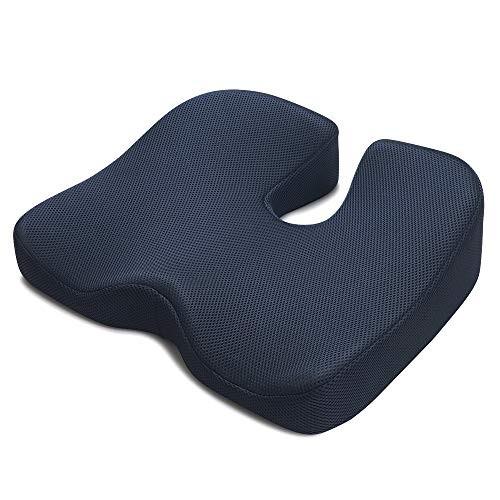 IKSTAR クッション 低反発 座布団 椅子 オフィス...