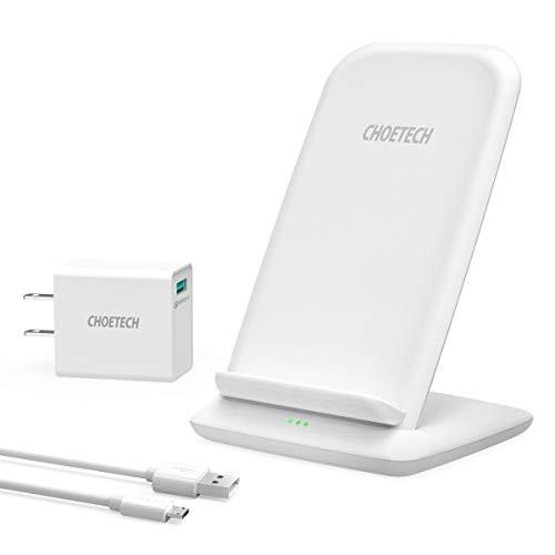 【15W急速充電】 CHOETECH Qi ワイヤレス充電器 Q...