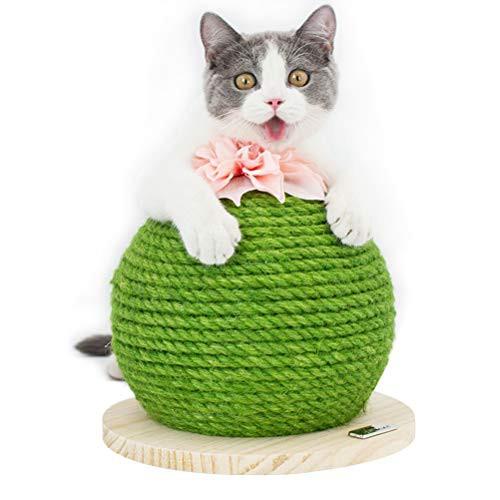 Retvi 猫スクラッチボード サイザル サボテンの仕...