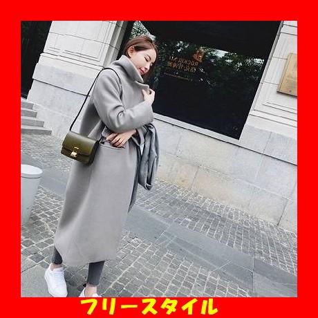 シンプルチェスターコート 定番アウター 大人カジ...
