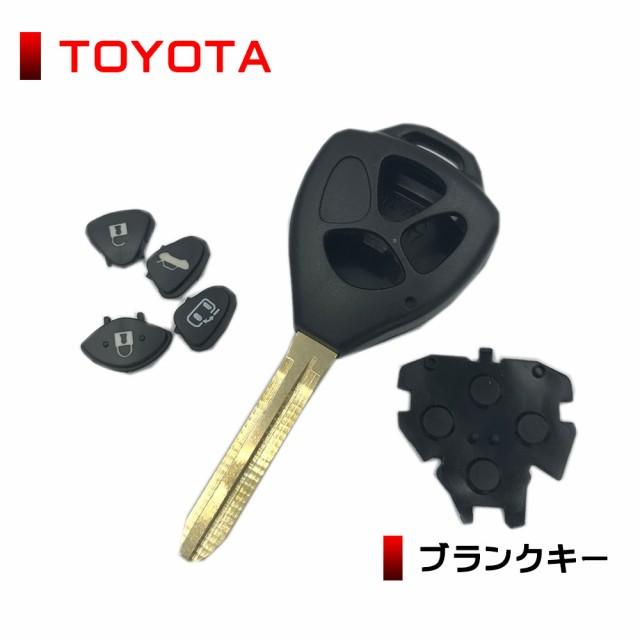 高品質 ブランクキー トヨタ アイシス スペアキー...