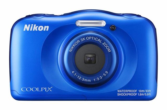 Nikon デジタルカメラ COOLPIX W100 防水 W100BL ...