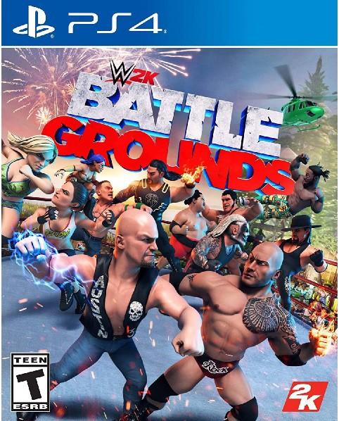 PS4 WWE 2K BATTLEGROUNDS 北米版[新品]
