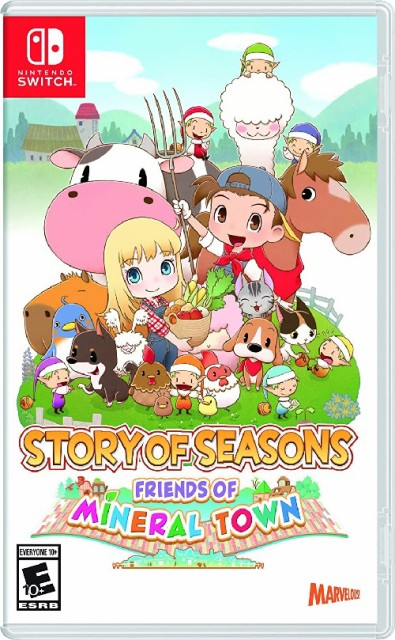 SWITCH Story of Seasons: Friends of Mineral To...