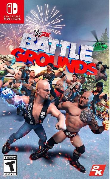 SWITCH WWE 2K BATTLEGROUNDS 北米版[新品]