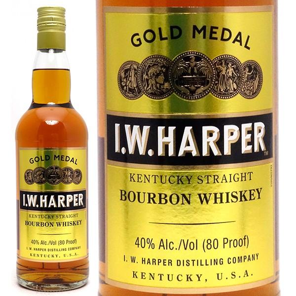 I.W.ハーパー ゴールドメダル 40度 700ml 正規品 バーボン ^YEIHGMJ0^
