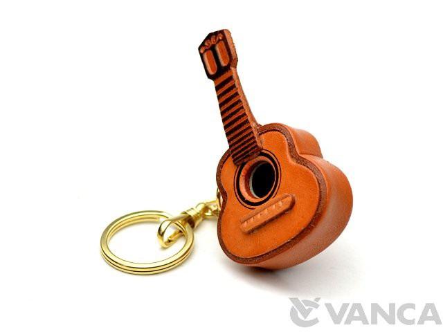 ギター キーホルダー/レザー 本革 VANCA/バンカク...