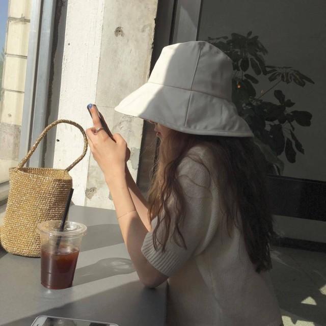 コットンハット ハット レディース 日焼け防止 UV...