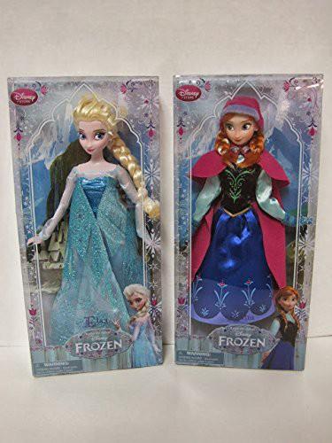 ディズニー アナと雪の女王 アナ&エルザ 30セ...