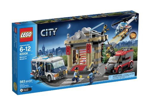 レゴ市警察博物館が侵入60008
