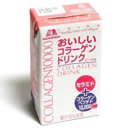 森永製菓 おいしいコラーゲンドリンク ピーチ味 1...