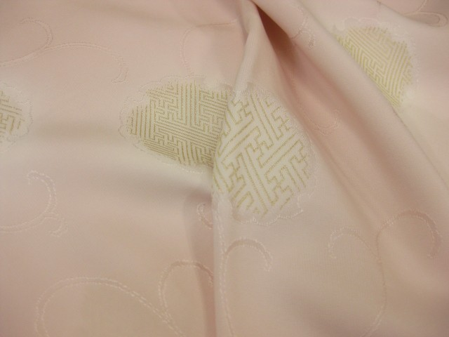 日本製・はんなり・正絹 縫取り・無地染め帯揚げ...