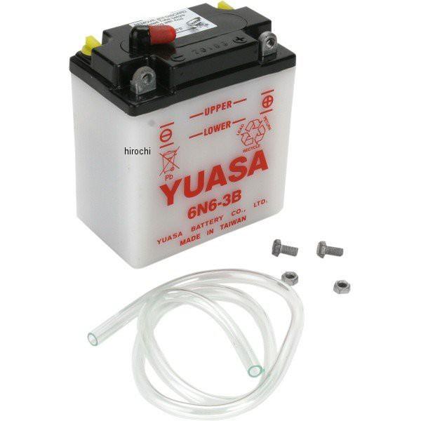 ユアサ YUASA バッテリー 開放型 6N6-3B WO店