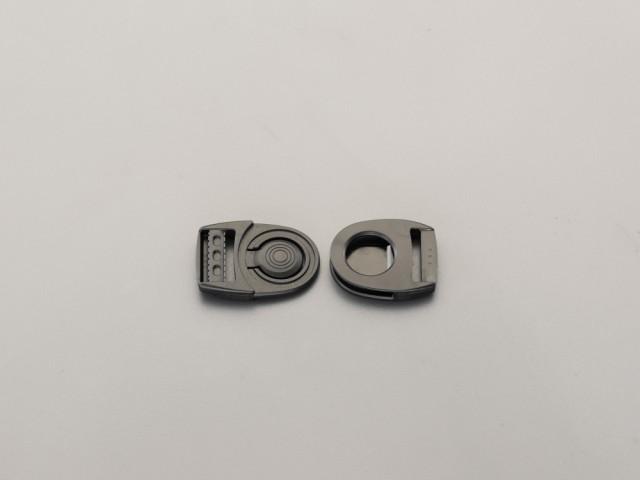 エスコ ESCO 20mm バックル(回転式/プラスチック...