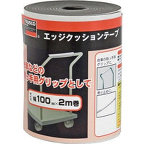 TEC-100BK TRUSCO エッジクッションテープ...