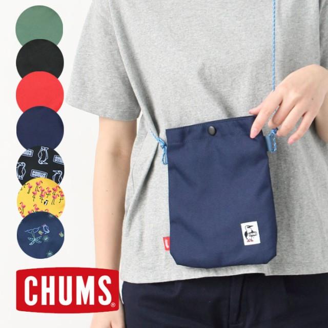 チャムス ショルダーバッグ CHUMS エコ スナップ ...