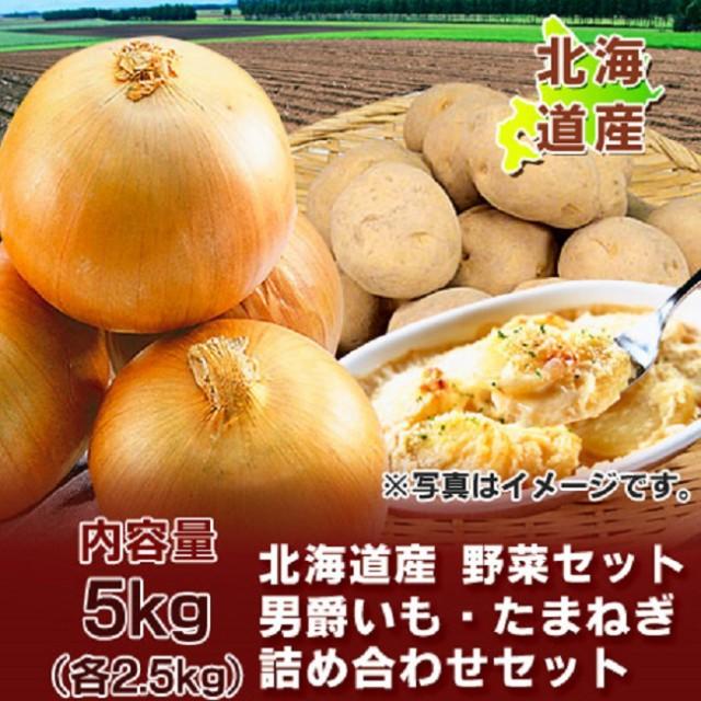 野菜セット 北海道産 じゃがいも(男爵いも) 玉ね...