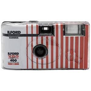 イルフォード [使い捨てカメラ]27枚撮り レンズ付モノクロフィルム フラッシュ付 XP−2