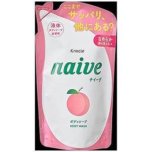 クラシエ薬品 「ナイーブ」ボディソープ(桃の葉...