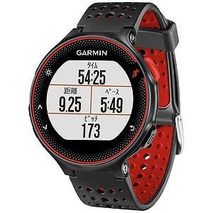 ガーミン GPSマルチスポーツウォッチ 「ForeAthlete235J」 37176H(BlackRed)(送料無料)