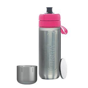 ブリタ 浄水機能付き携帯ボトル 「fill&go Active(フィルアンドゴー アクティブ)」 BJGAPIZ ピンク