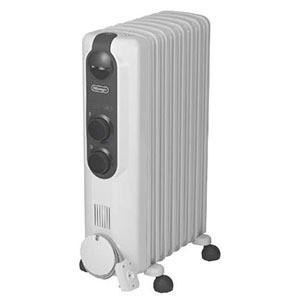 デロンギ オイルヒーター (8畳〜10畳) RHJ35M0812-DG ピュアホワイト+ダークグレイ