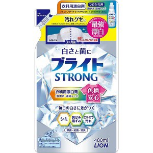 ライオン ブライトSTRONG 替480ml ブ...