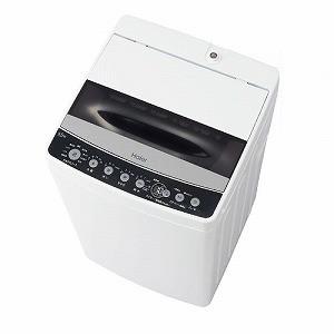 ハイアール 全自動洗濯機 [洗濯4.5kg] JW−C45D−K ブラック(標準設置無料)