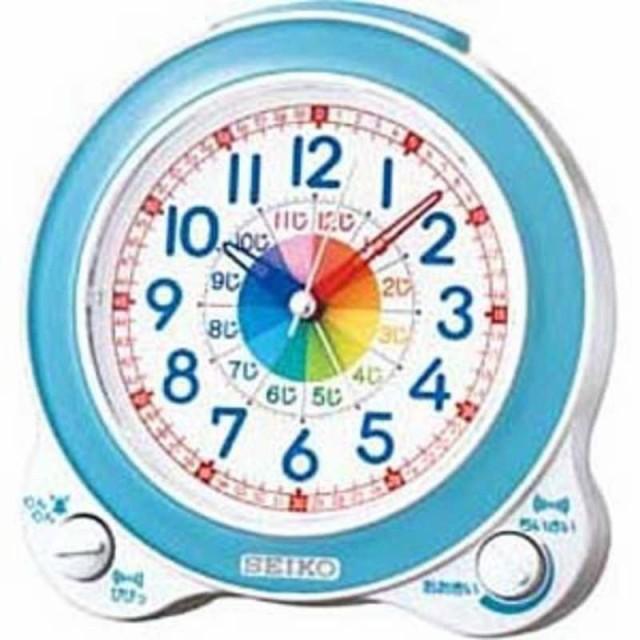セイコー 知育目覚まし時計 KR887L