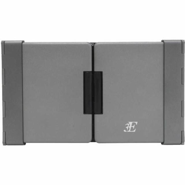 3E 【スマホ/タブレット対応】ワイヤレスキーボード[Bluetooth・Android/iOS/Win・英語79キー]TENP