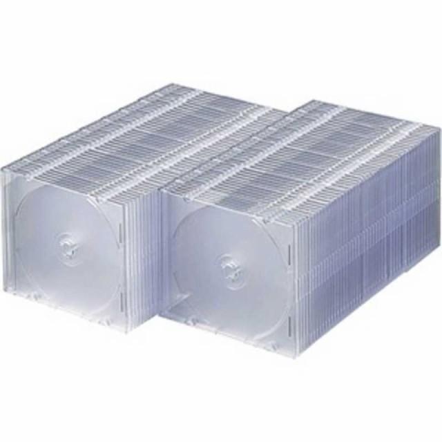 サンワサプライ CD/DVD/Blu-ray対応収納ケース (...