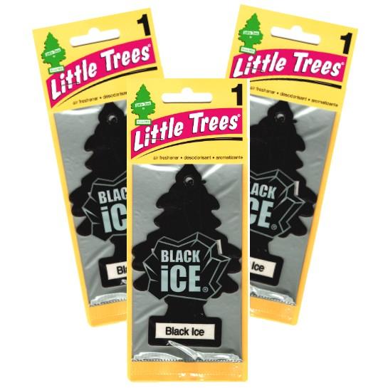 リトルツリー Little Trees ブラックアイス 3枚組...