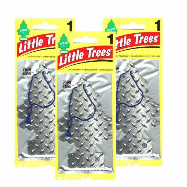 リトルツリー Little Trees Pure Steel 3枚組 ...