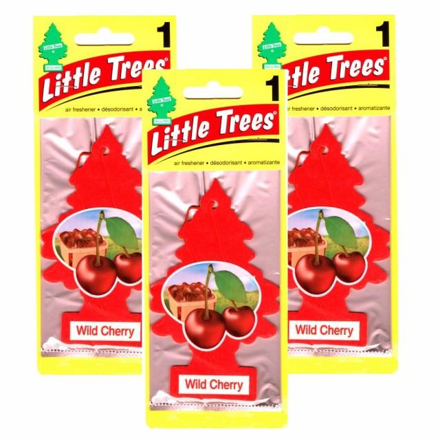 リトルツリー Little Trees ワイルドチェリー 3...