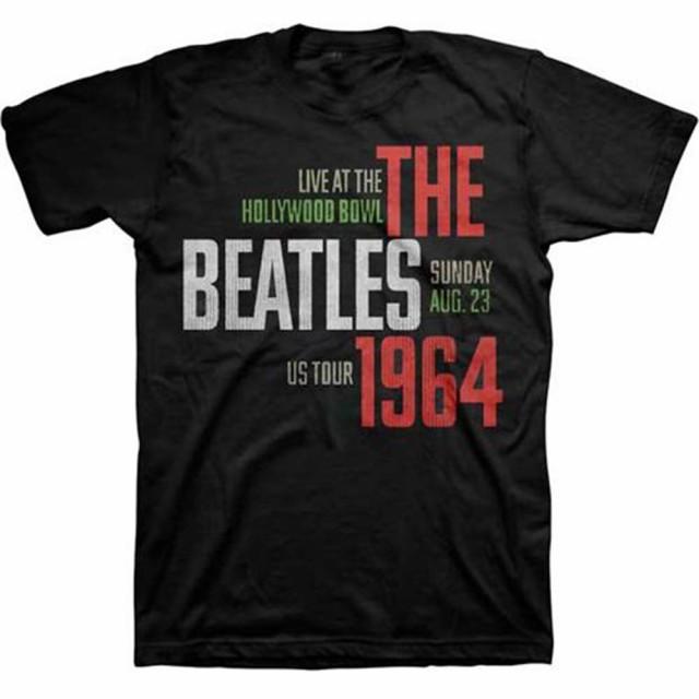 BEATLES ビートルズ - USAツアーTシャツ 64 HOLLY...