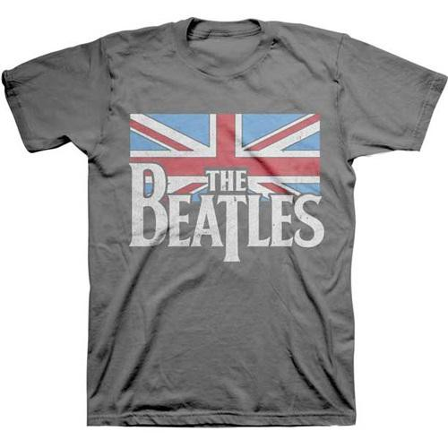 BEATLES ビートルズ - DISTRESSED BRITISH FLAG /...