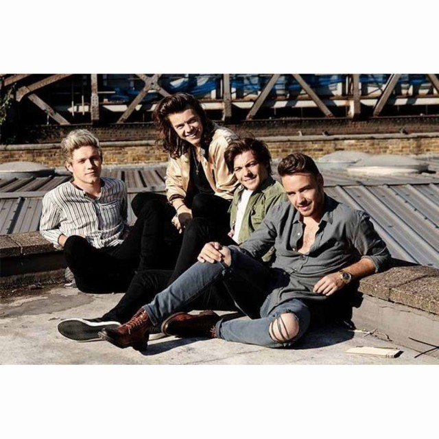 ONE DIRECTION ワンダイレクション - Rooftop / ...