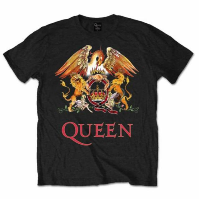 QUEEN クイーン - CLASSIC CREST / Tシャツ / メ...