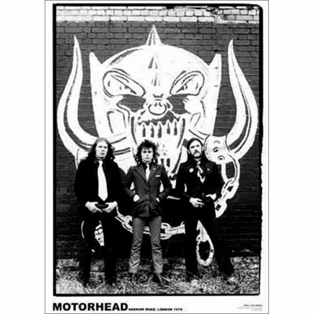 MOTORHEAD モーターヘッド - LONDON / ポスター ...