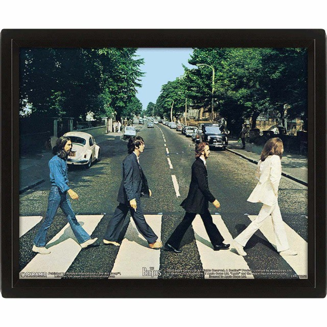 BEATLES ビートルズ - Abbey Road 3D / インテリ...